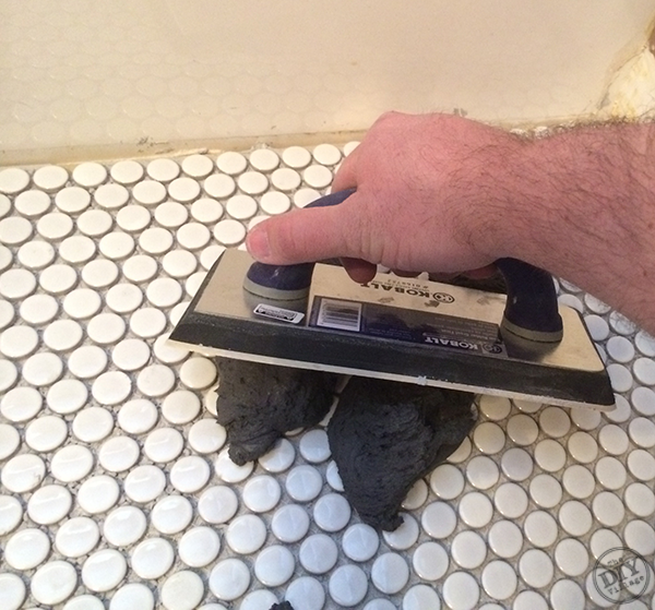 How To Install Penny Tile Creative Ideas Bloggers