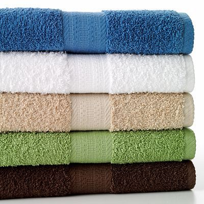 The Big One Solid Bath Towels White Or Light Colors Are Good Or