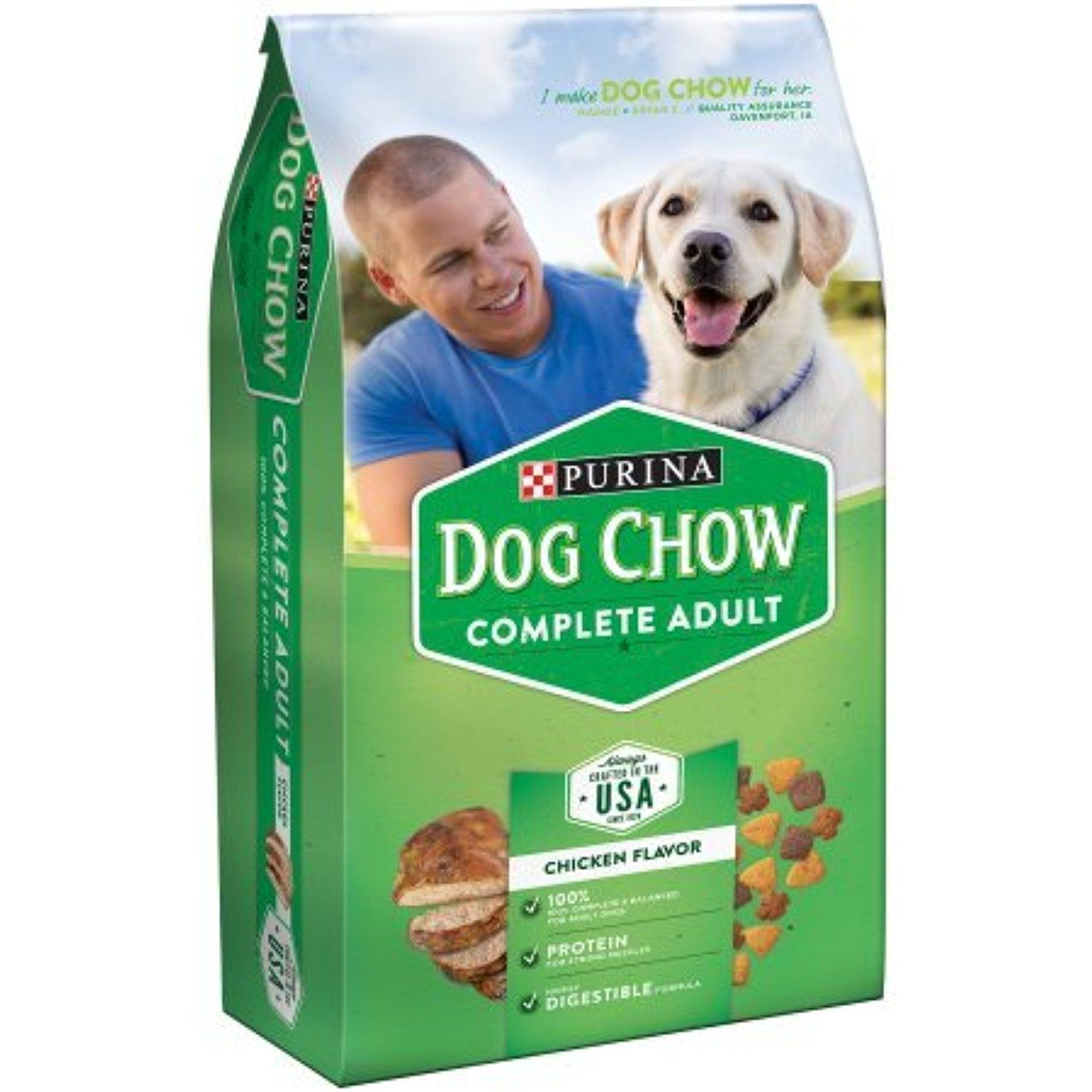 Purina Dog Chow Dry Dog Food Adult Complete 4 4 Pound Bag Pack