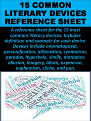 most common literary devices pdf