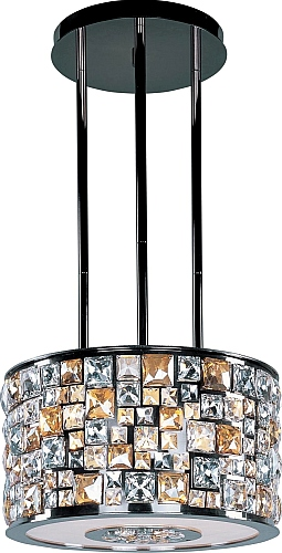 Great Maxim Lighting Lights   Maxim Lighting Chandelier Fixture Model 39795JCLB  Fifth Avenue 6 Light Pendant In Luster Bronze W/Jewel Crystal Glass.