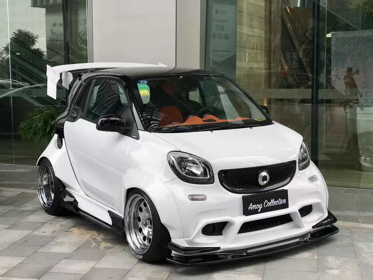 Smart 453 wide body | Dynamics Performance Engineering ...