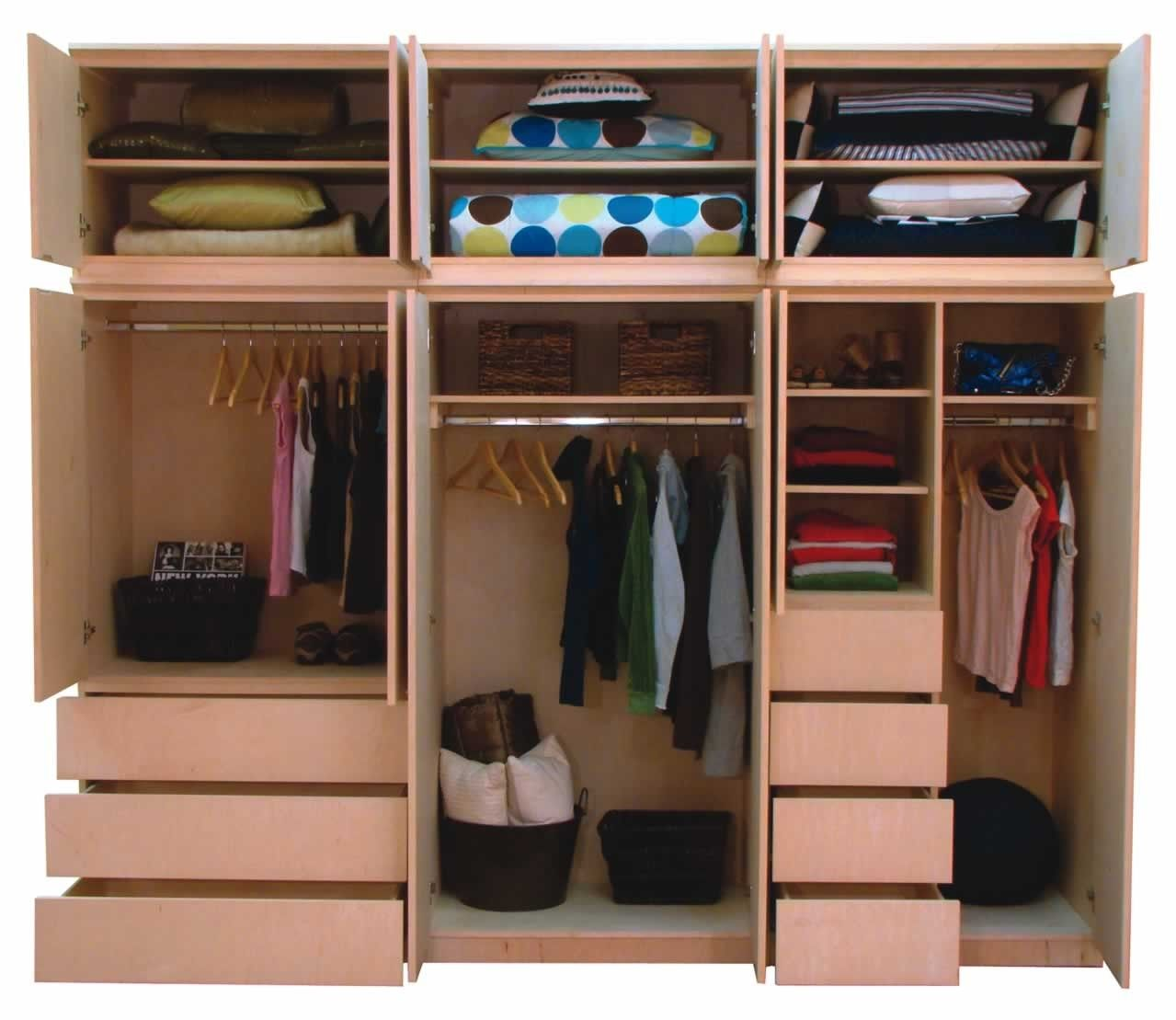 Ikea Closet Design Ideas find this pin and more on organization Closet Ideas For Small Bedrooms Offering Effectiveness In Style Creative Small Bedrooms Cupboard Design With Brown Shelving Unit Finished W