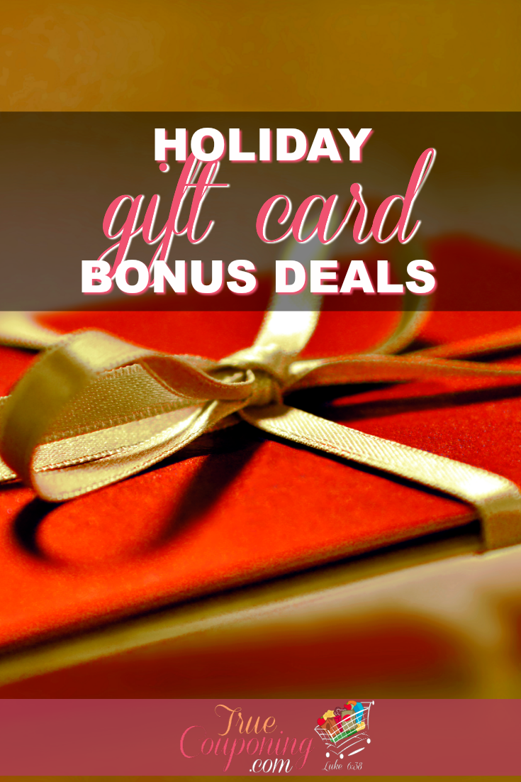The Best Holiday Gift Card Bonus Deals Going On Now | Christmas ...