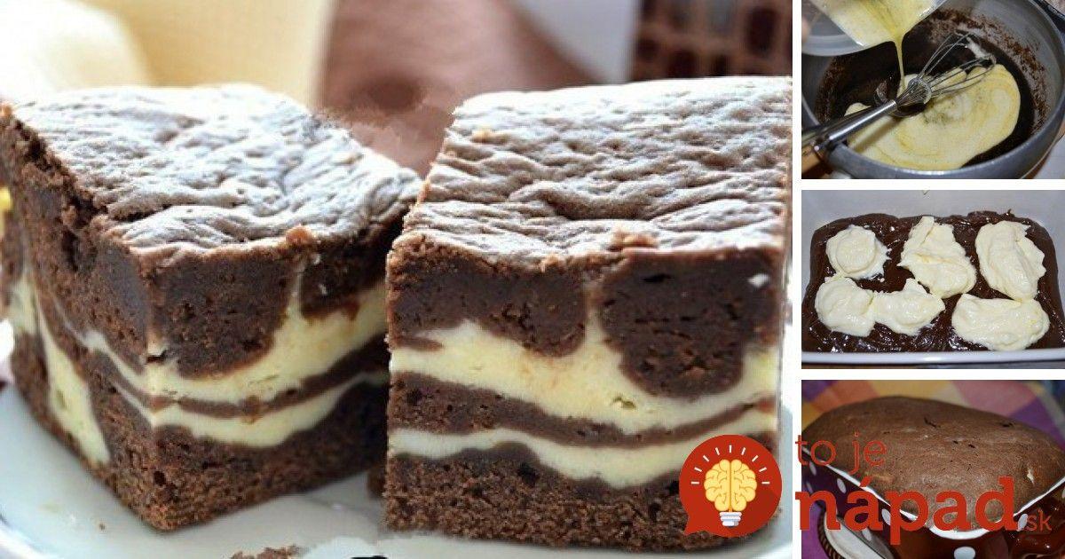 Tvaroh ačokoláda – to je spojenie, ktoré musí byť pre každého zárukou skvelého dezertu. Vyskúšajte tento vysoký tvarohovo-čokoládový koláč aurčite nebudete ľutovať! Potrebujeme: Na tmavú vrstvu:  100 g čokolády svyšším obsahom kakaa  100 g masla  100 g kryštálového cukru  100 g …