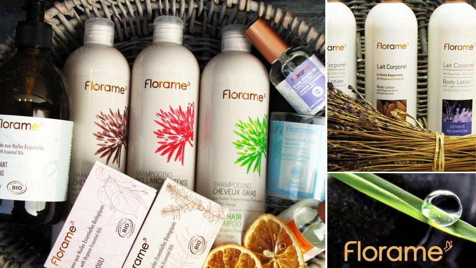 Florame ofrece una amplia gama de cuidado personal, belleza y bienestar. Todos sus productos están elaborados con procesos naturales y materias primas cuidadosamente seleccionados y certificados por etiquetas oficiales.