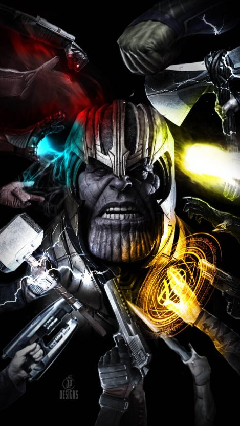 All Avengers Vs Thanos Iphone Wallpaper Avengers Vs Thanos Marvel Comics Wallpaper Marvel Villains