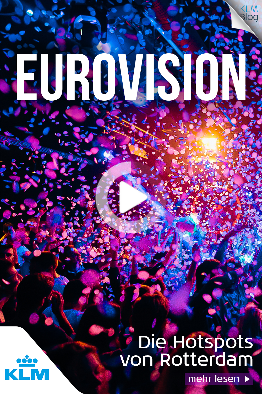 Lots of fun in Rotterdam during the Euro Vision Song Contest ...