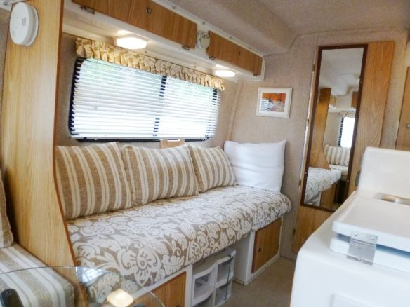 Casita Decorating Twin Bed Mod Travel Trailer Interior