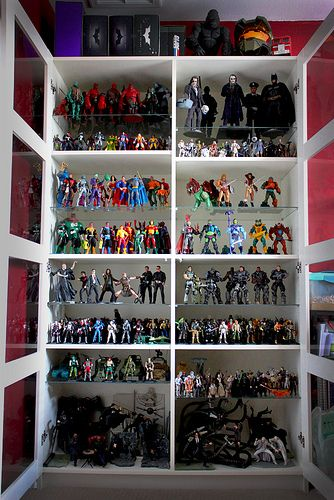 Action Figure Shelf My Action Figure Collection For