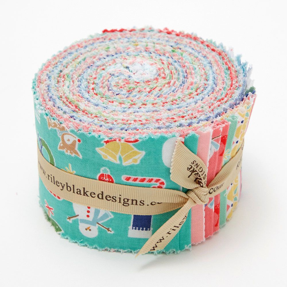 Cozy Christmas Rolie Polie by Lori Holt for Riley Blake Designs