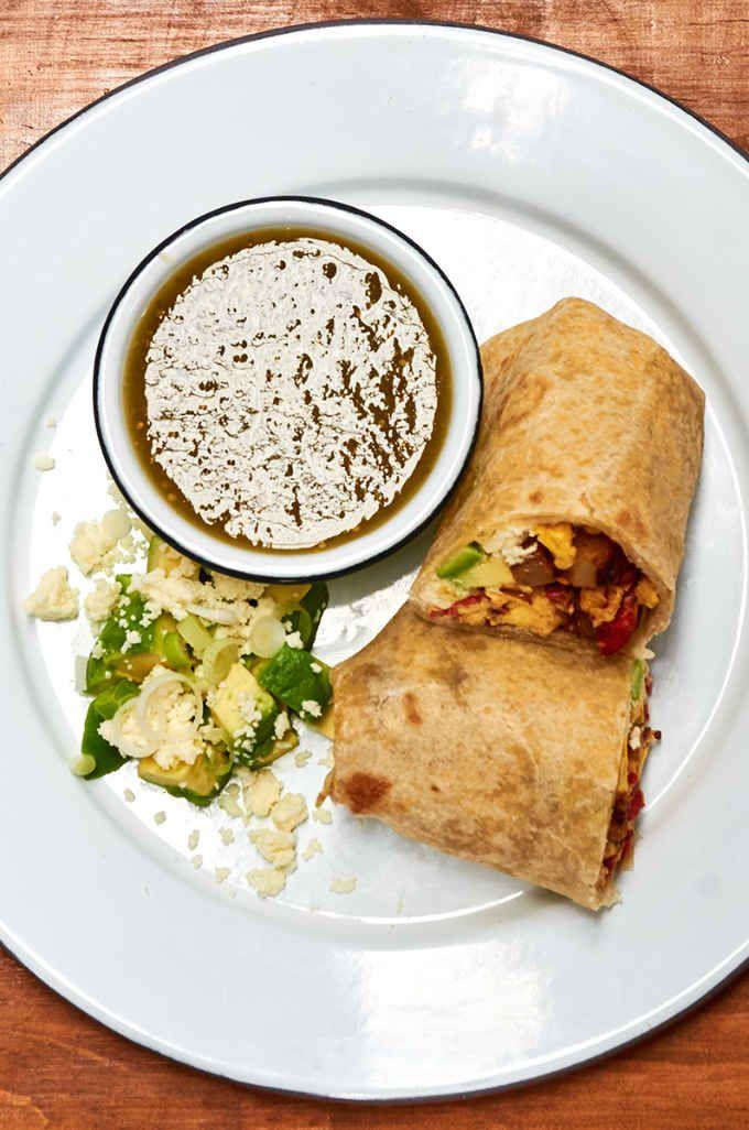 Chorizo Egg Breakfast Burrito   Recipe   Chorizo, eggs ...