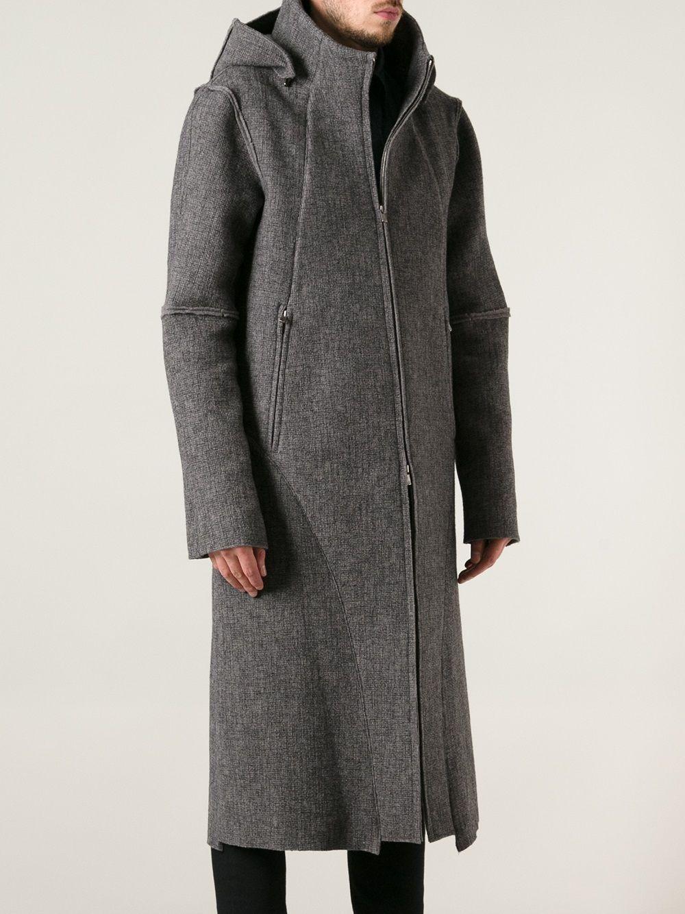mens army great coat neil barrett - Google Search