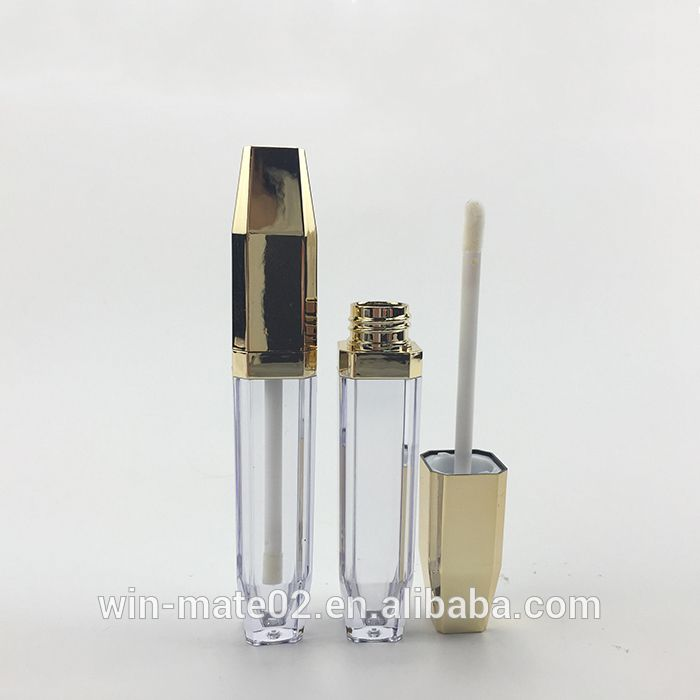 Chinese Wholesale Exporters Plastic Gold Uv Effect Cosmetic Lipstick And Lip Gloss
