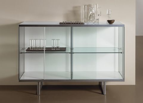 Broadway Glass Sideboard Glass Sideboard Modern Buffets And