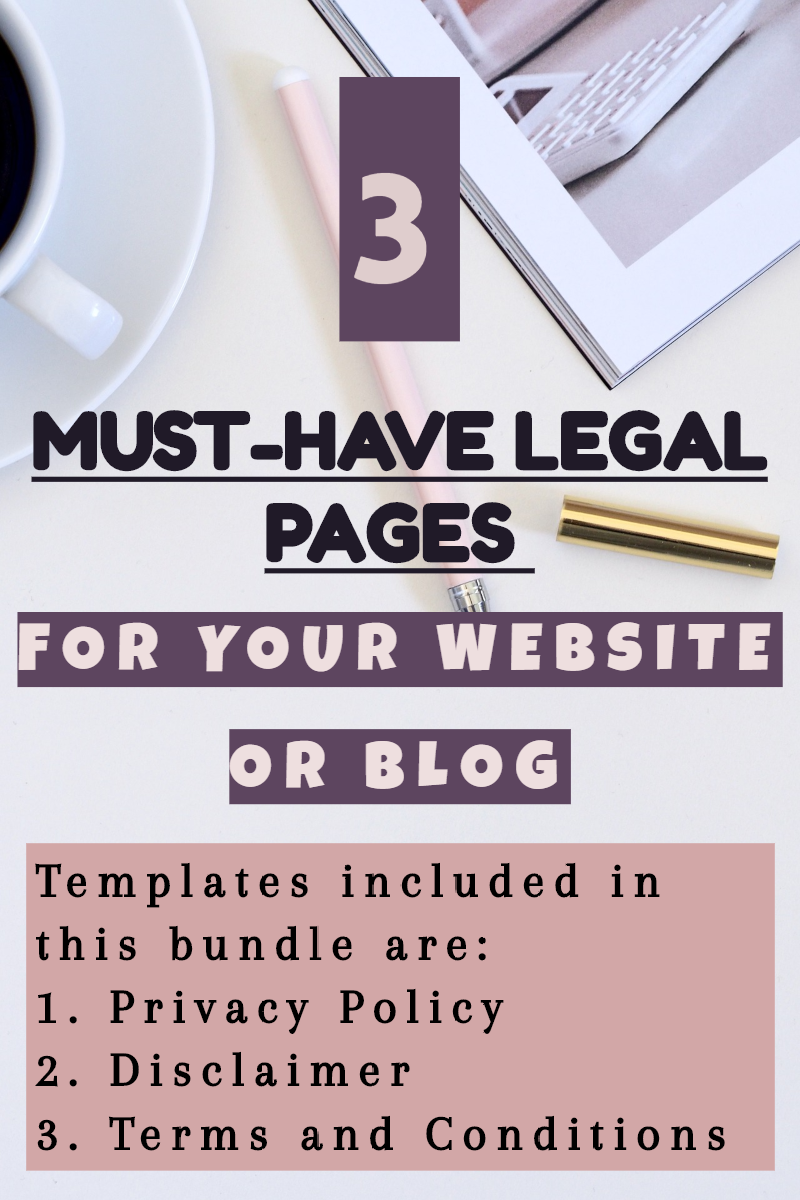 Every Website Or Blog Must Be Gdpr Compliant And Privacy Policy Page Is Required By The Law If You Want To Make Money Blogging Online Business Money Blogging