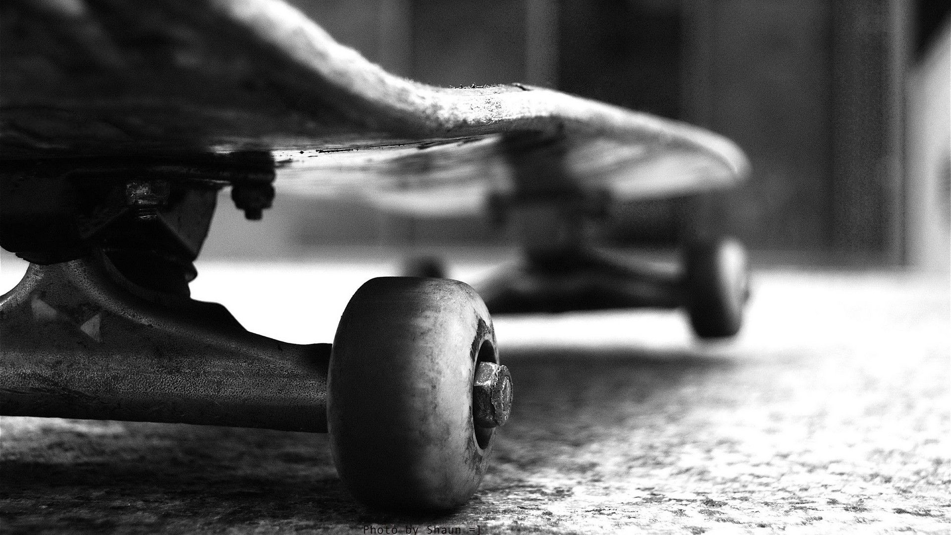Black and White Skateboard Wallpaper by HD Wallpapers Daily