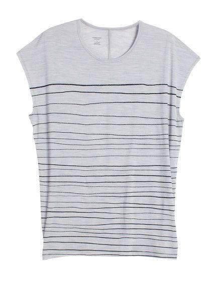 Aria Tunic Line Print | Tunique avec manches dolman, l'Aria Tunic Line Print est…