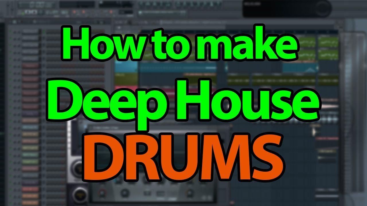 How to make Deep House/Future House Drums FL Studio