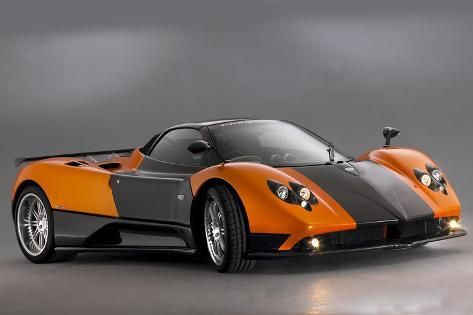 '2007 Pagani Zonda Roadster F' Photographic Print - | Art.com