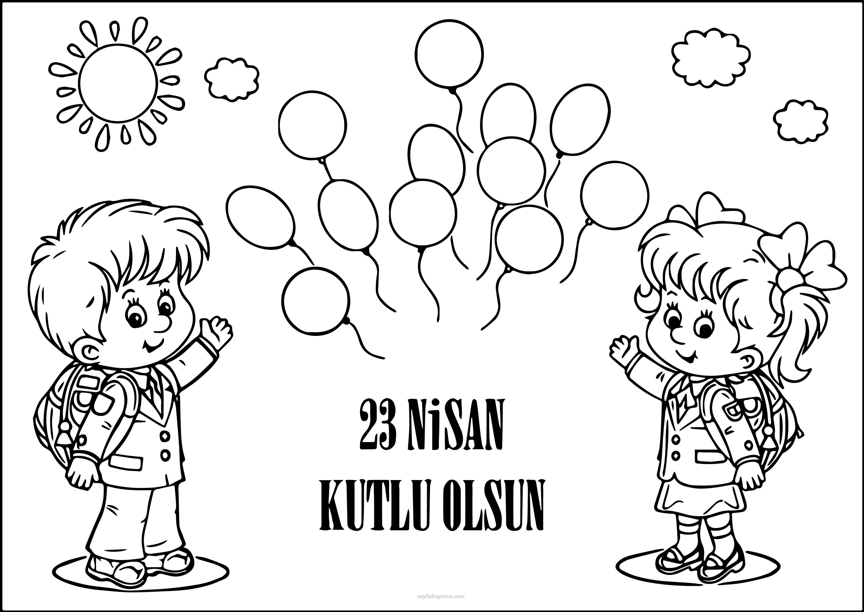23 Nisan Atatürk Boyama 2017 Eğitim Pinterest Stamp