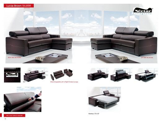 Modern Sectional Sofas And Corner Couches In Toronto Mississauga Ottawa And Markham By La Vie Fu Leather Sectional Sofas Modern Sofa Sectional Sectional Sofa