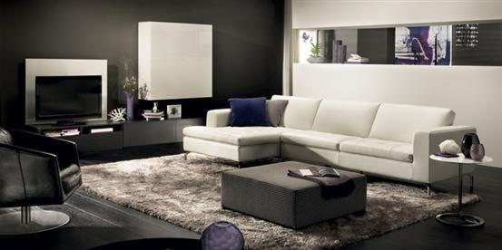 Savoy Sectional Sofa By Natuzzi Italia
