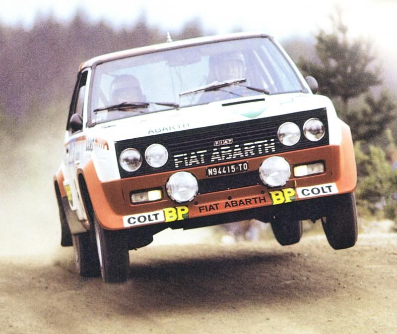 T Makinen Fiat 131 Abarth 1000 Lakes 77 Rallye Voiture De
