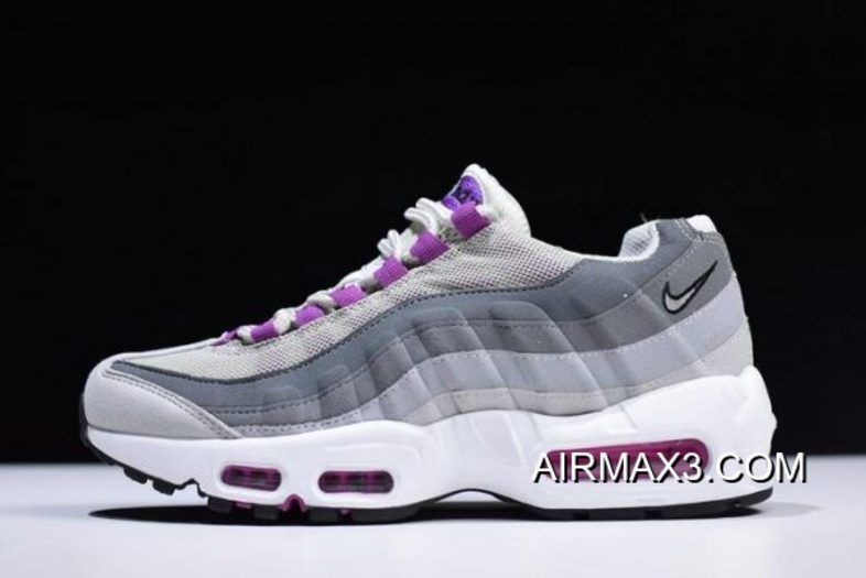 competitive price 9d307 2e14c WMNS Nike Air Max 95 Pure Platinum Hyper Violet-Wolf Grey 307960-001  Outlet, Price   95.82 - Nike AirMax Sneakers Free shipping!