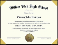 picture regarding Printable Home School Diploma called Diplomas for Homeschools and Christian Colleges