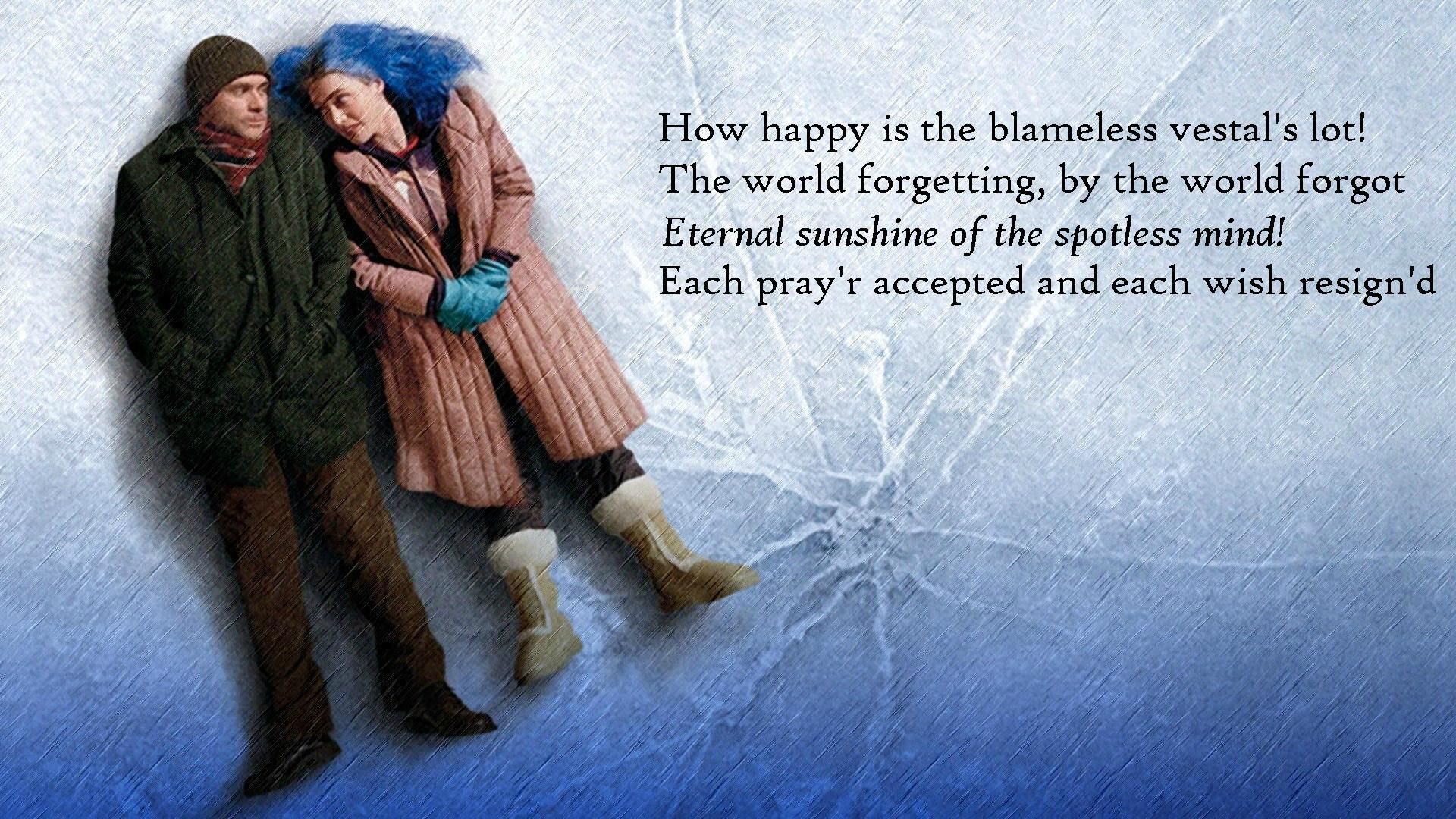 Eternal Sunshine Of The Spotless Mind 1920x1080 Eternal Sunshine Of The Spotless Mind Eternal Sunshine Eternity