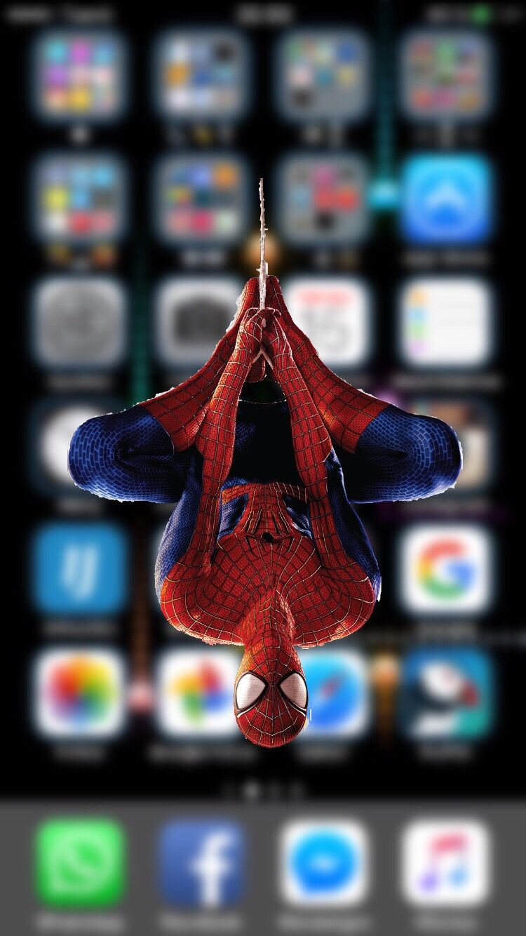 Spidey Vs Mysterio Swing IPhone Wallpaper (With images