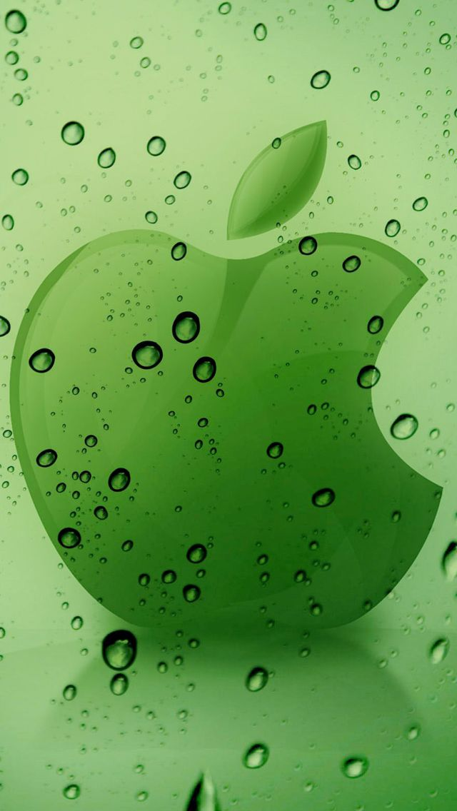 Apple Water Logo Wallpaper Iphone