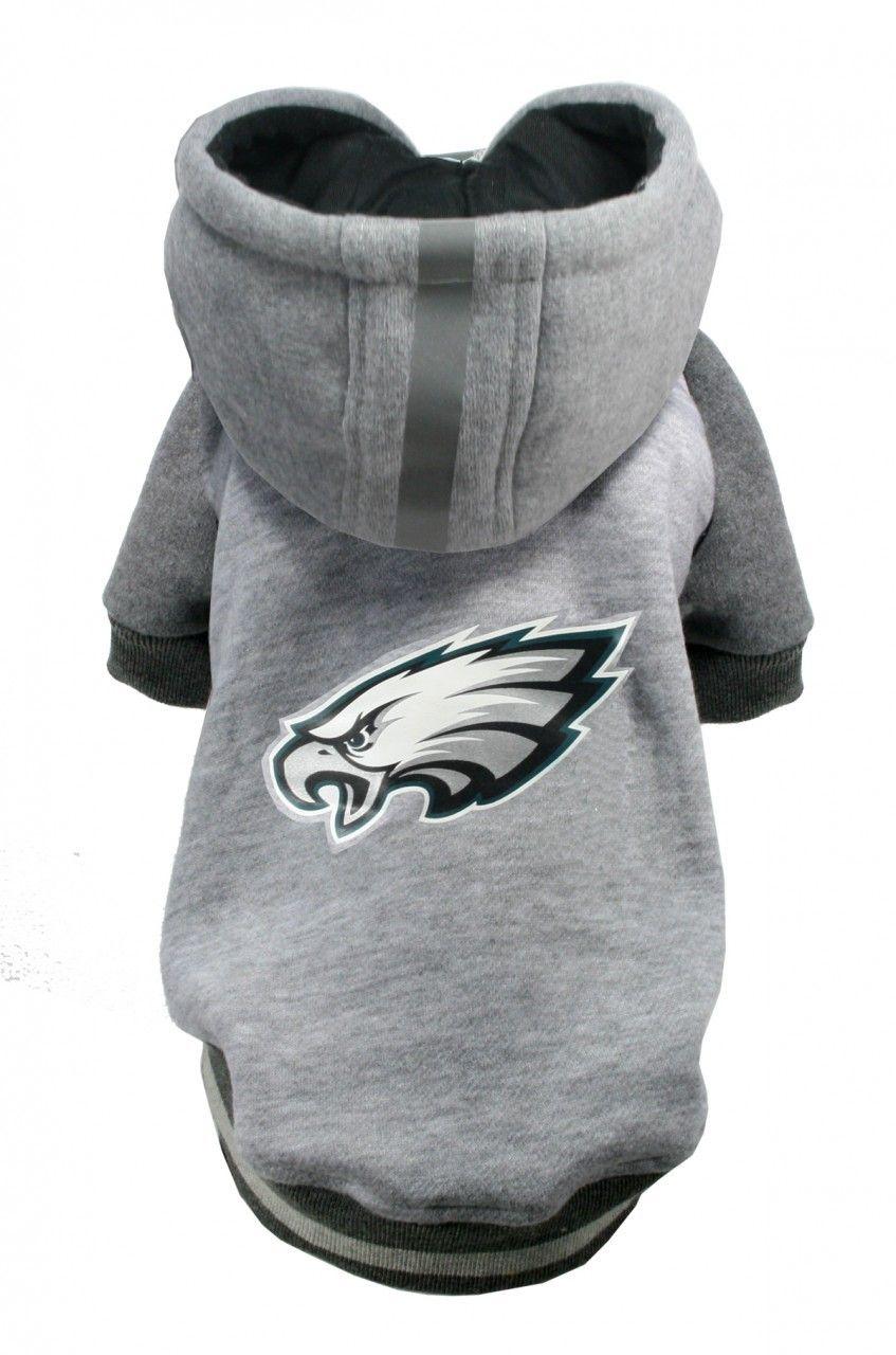size 40 76721 511c5 NFL Team Hoodie - Eagles | Brody | Dog helmet, Dog hoodie ...