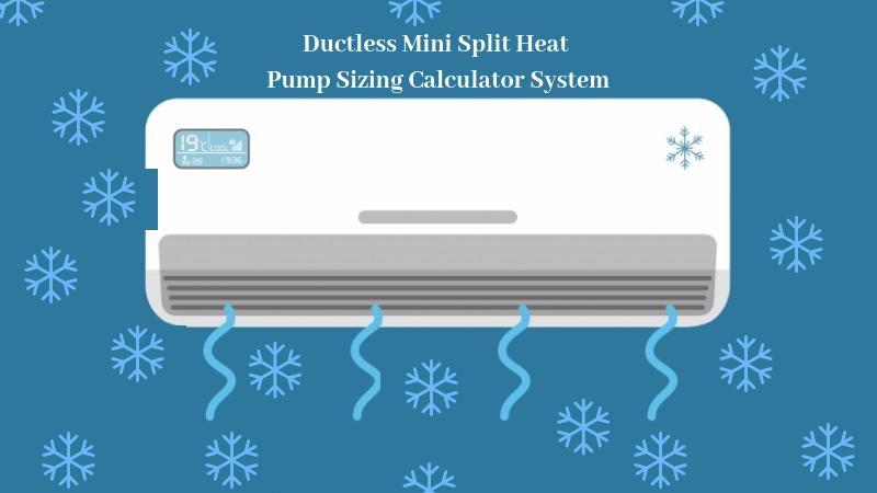 Ductless Mini Split Heat Pump Sizing Calculator (Must Read