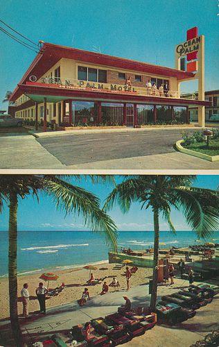 vintage motel postcards