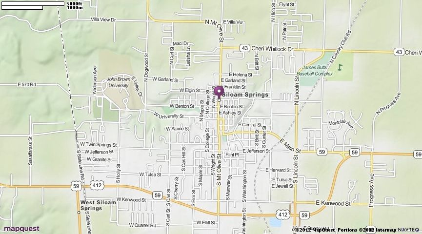 Arkansas Map Quest.Siloam Springs Ar Map Mapquest Favorite Places Spaces Map
