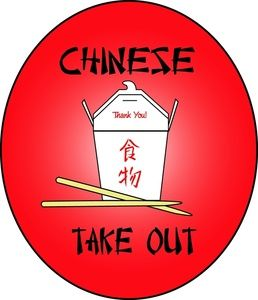 Chinese Food Clipart Image Chine Take Out Food Container With In 2020 Chinese Food Food Clipart Food Clips
