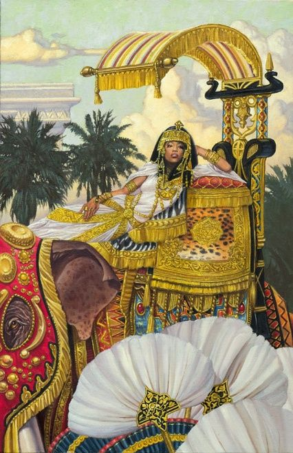 Cleopatra By Chris Hopkins Cleo Amp Co Artwork Art