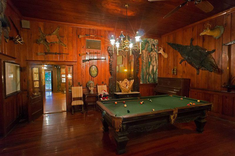 54 Best Billiard Room Images On Pinterest: Pool Room Everglade City Rod And Gun Club-L.jpg 800×532