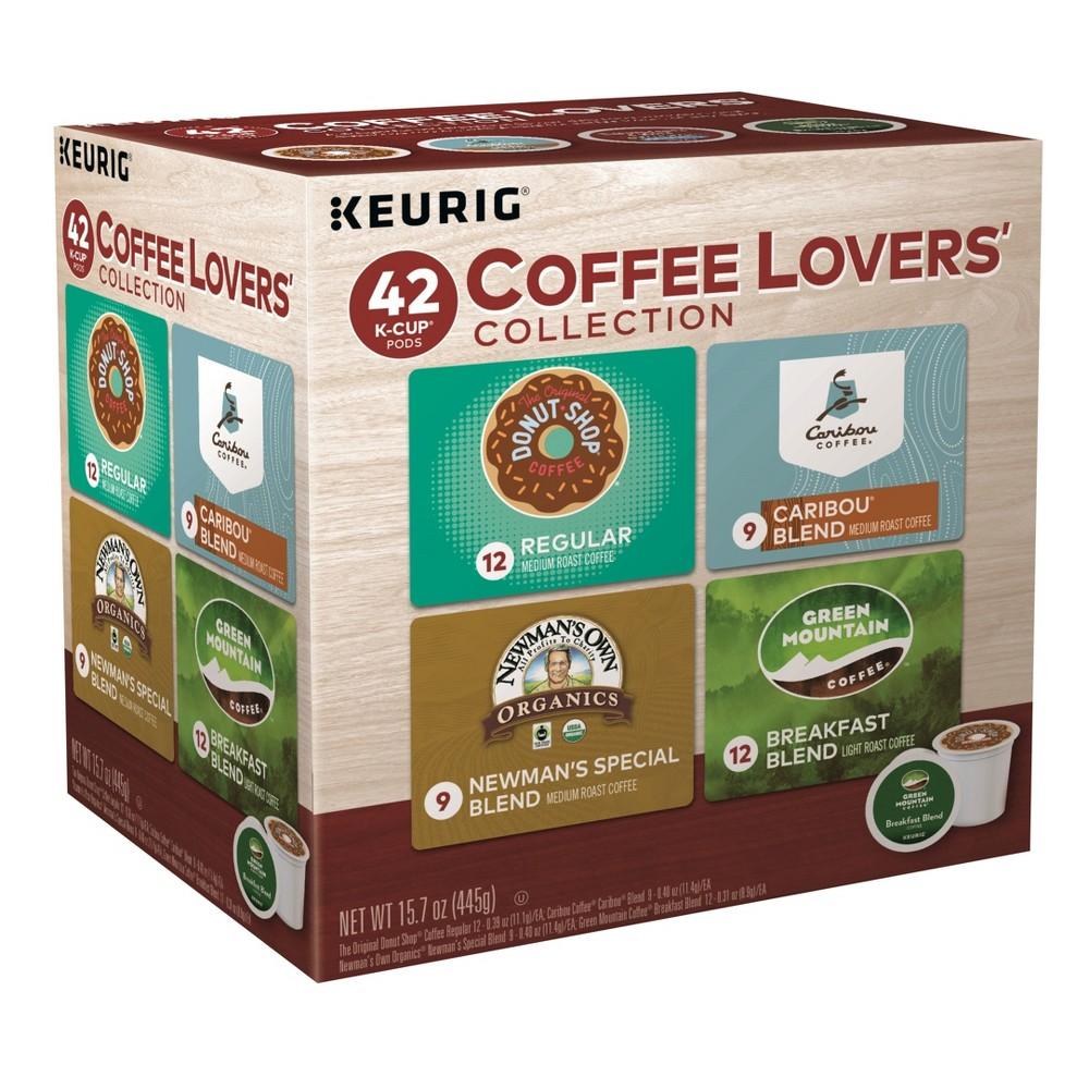 Keurig coffee lovers collection sampler variety pack