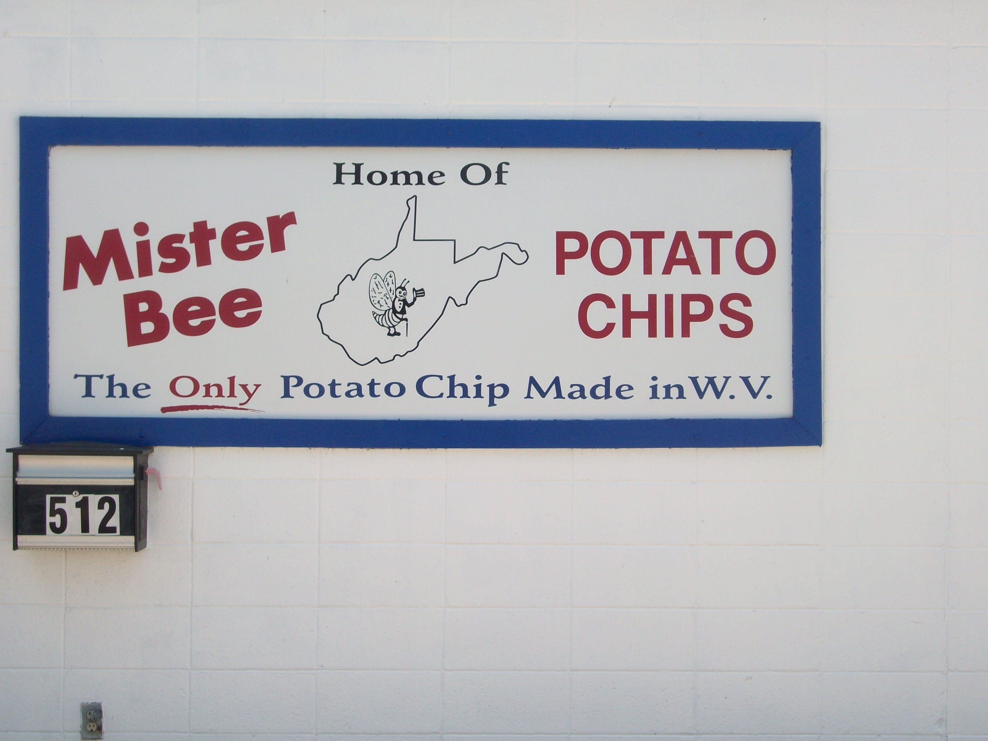 Mister Bee Potato Chip factory in Parkersburg, WV | Parkersburg ...