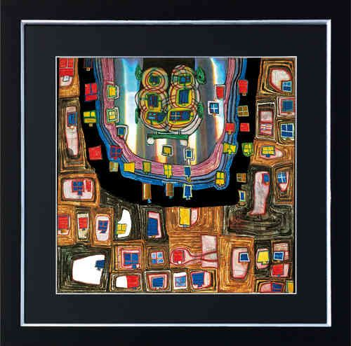 Birth Of A Car   Hundertwasser