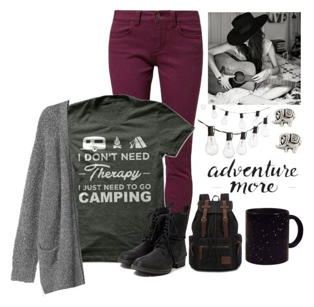 """{c a m p i n g} desc."" by lizzybel-18 ❤ liked on Polyvore featuring TWINTIP, Monki, Crate and Barrel, Accessorize, V AVE SHOE REPAIR and beldesigns17"