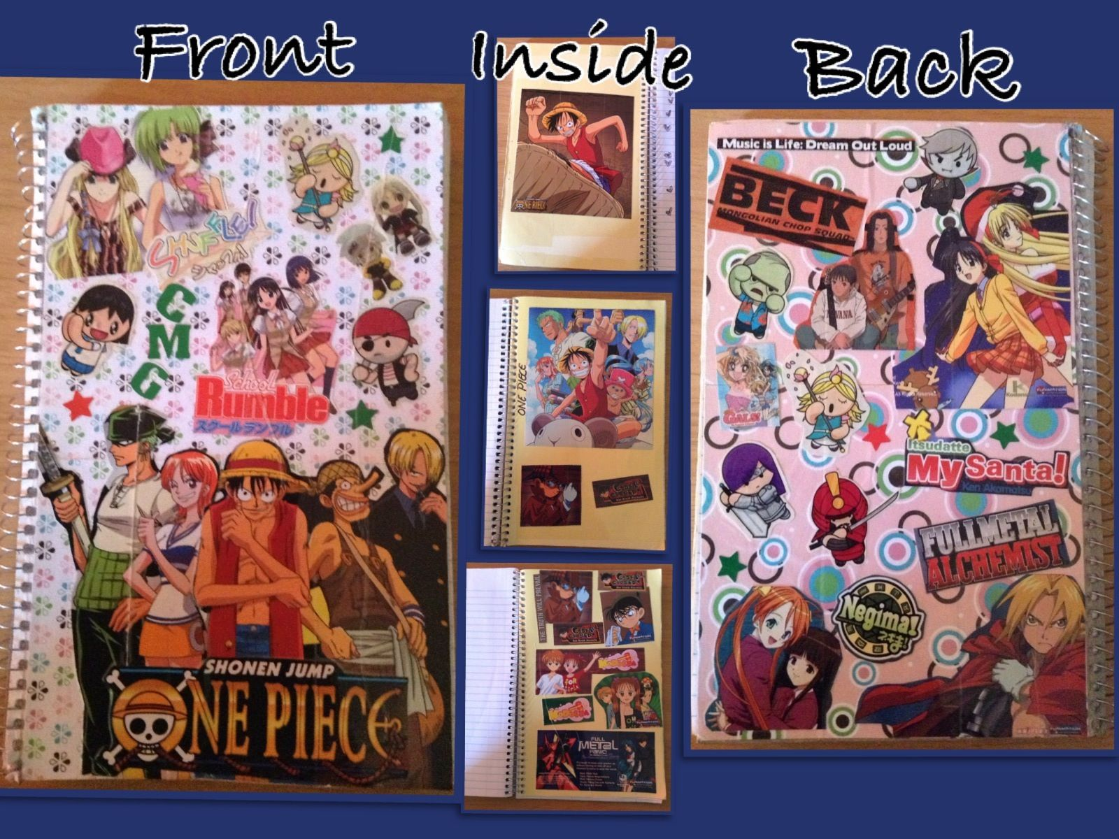 Anime Notebook Cover All My Favorite Anime Shows Anime Shows