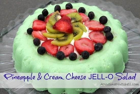 Pin By Findingzest On Food Drool Worthy Recipes Jello Mold Recipes Lime Jello Salads Cream Cheese Recipes