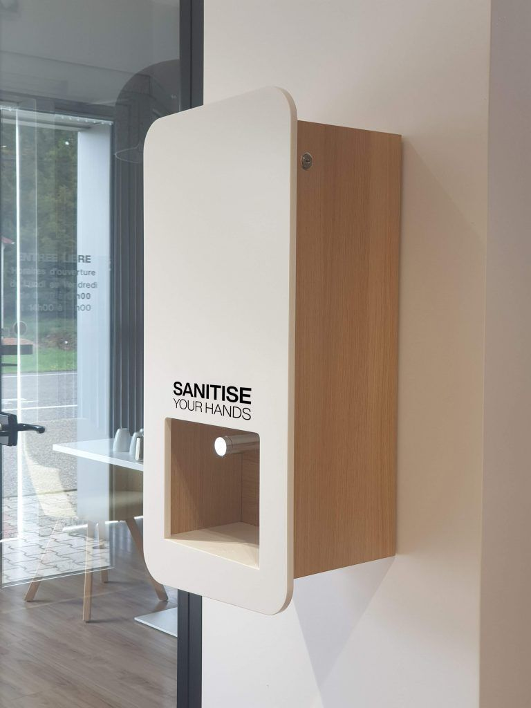Impress Wall Mountable Hand Sanitiser Station For Touch Free Hand Gel Dispensing In 2020 Hand Sanitizer Sanitation Stations Sanitizer