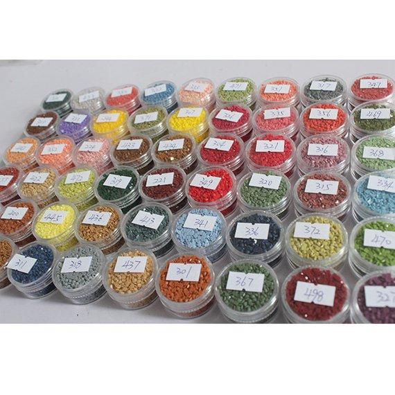 Diamond Paint Cross Stitch Embroidery 2000Pcs Drill Crystal Point Drill Pen Kit