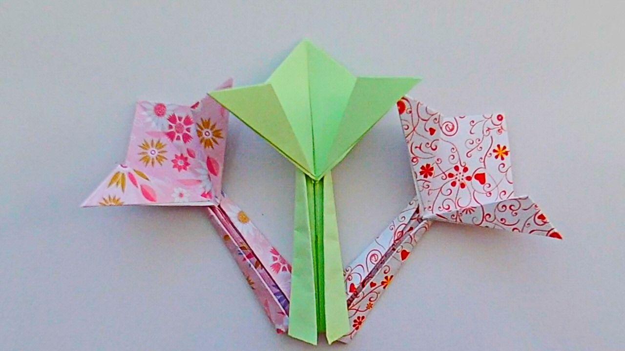 How To Fold Origami Flower Easy Nadezhda Ivanova Origami Flower
