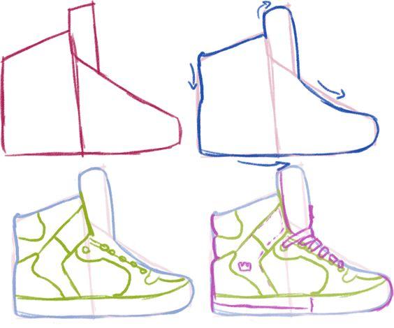 Comment Dessiner Des Chaussures Arttru Com Comment Dessiner Des Chaussures Conseils De Dessin Tutoriel De Dessin
